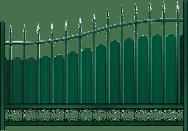 Clôture aluminium Menhir