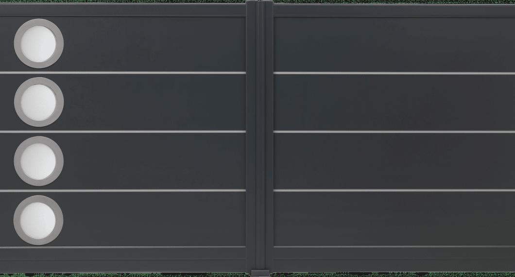Portail aluminium Milonga