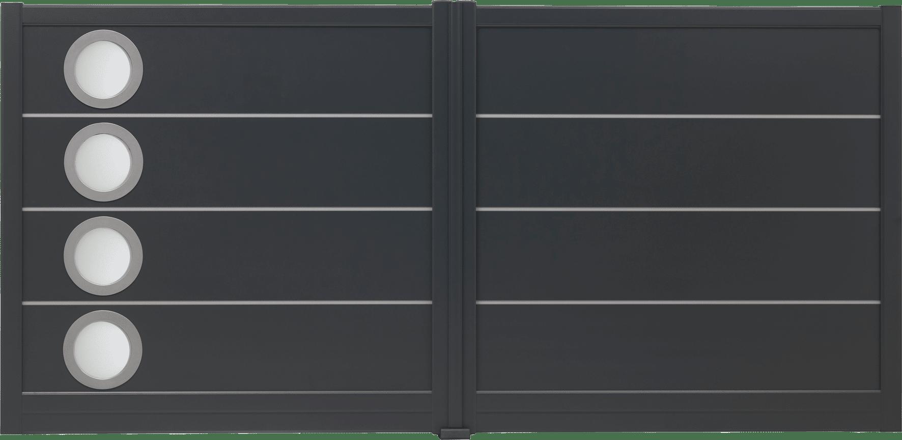 Clôture aluminium Milonga - Les modèles contemporains   Charuel 3b156929ecdf