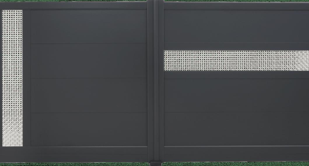 Portail aluminium Onagre