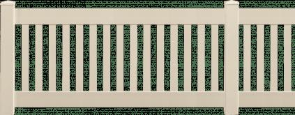 Clôture PVC Opéra