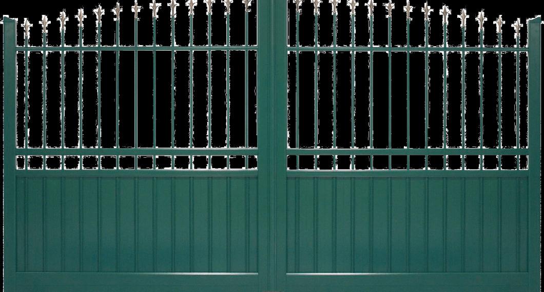 Portail aluminium Palis
