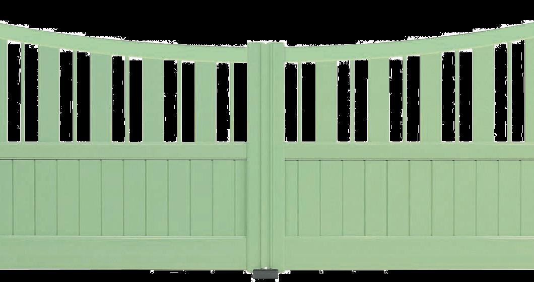 Portail aluminium Paso Doble