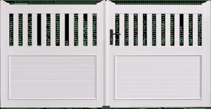 Portail PVC Planiciel
