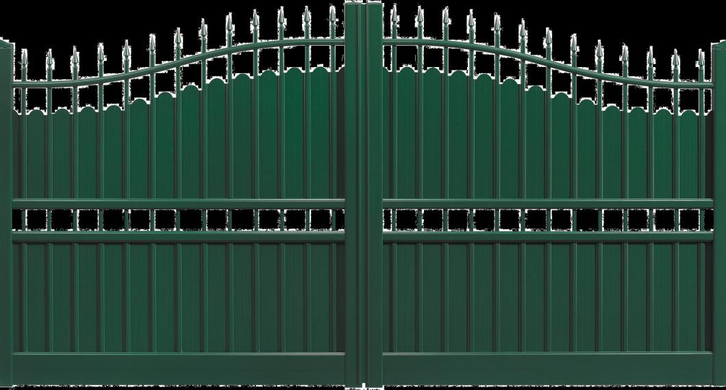 Portail aluminium Retable
