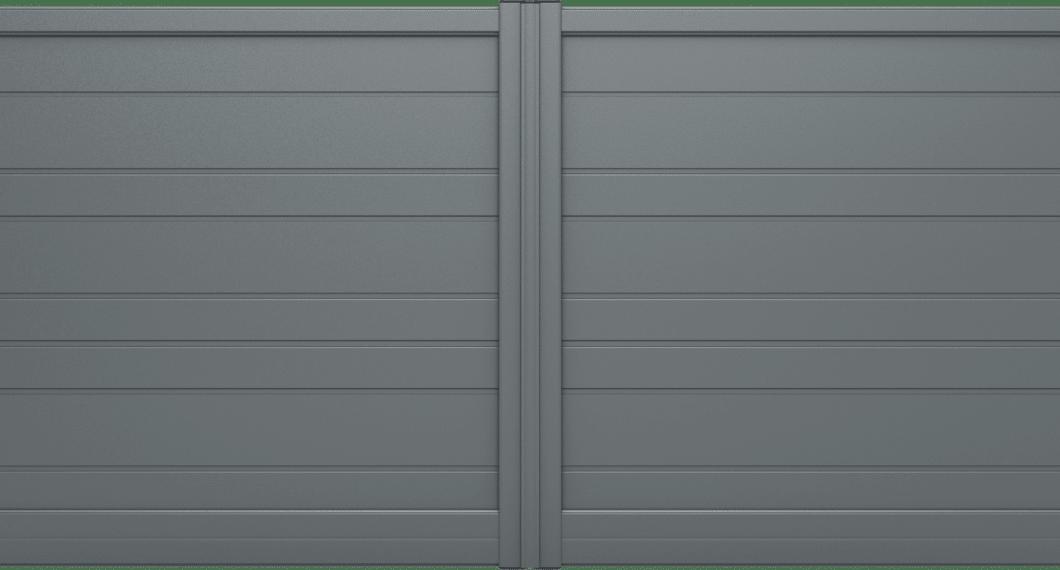 Portail aluminium Rétro