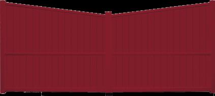 Portail aluminium Rosée