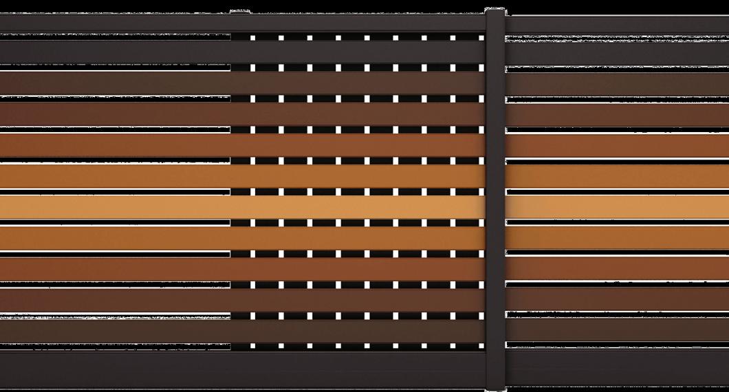 Portail aluminium Saxifraga