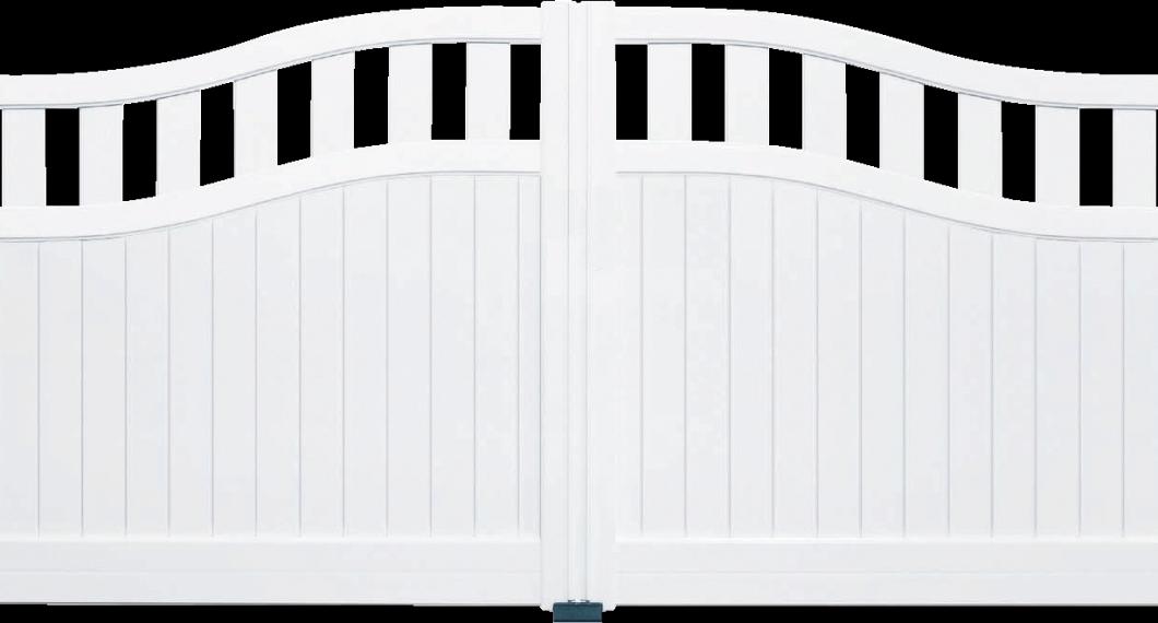 Portail aluminium Schottich