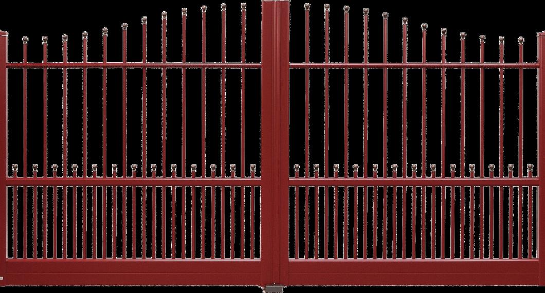 Portail aluminium Sentier