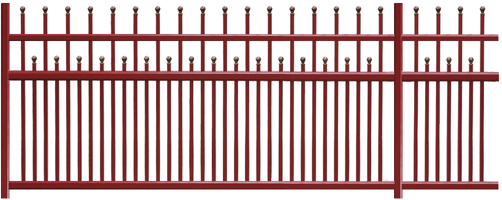 Clôture aluminium Sentier - Les modèles traditionnels   Charuel abf6c9ca46f4