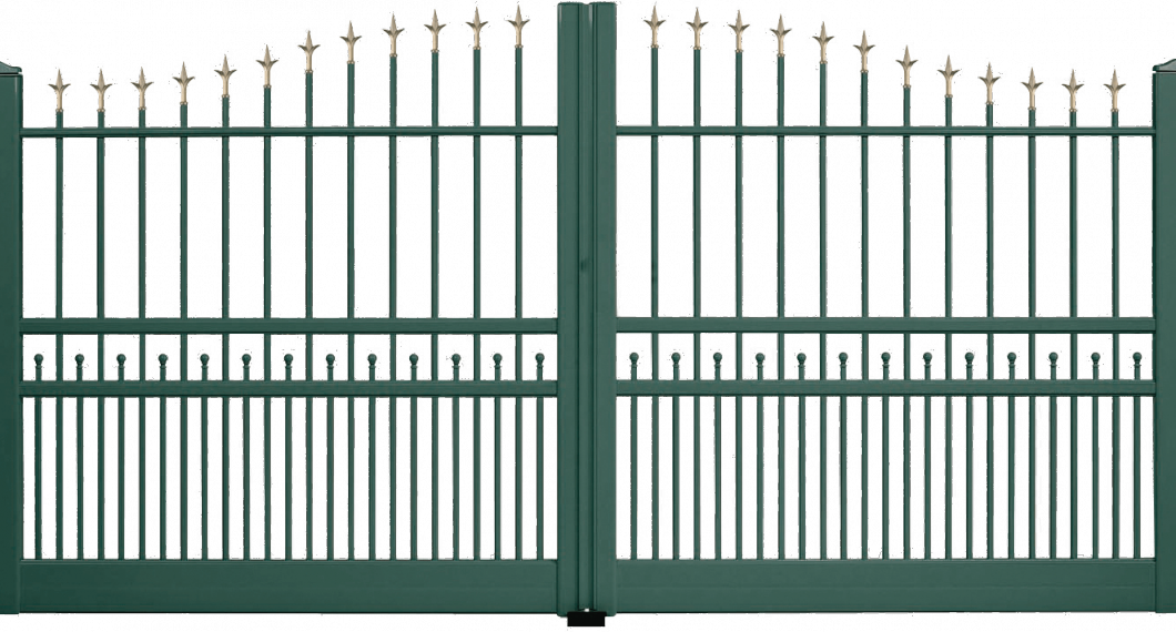 Portail aluminium Souterrain