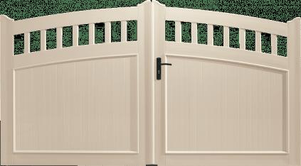 Portail PVC Synthétiseur