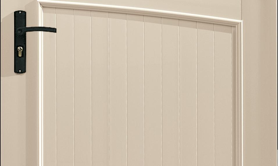 Portillon PVC Synthétiseur