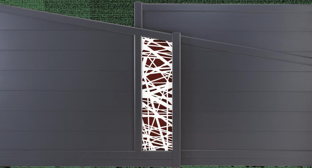 Portail aluminium Talbotia