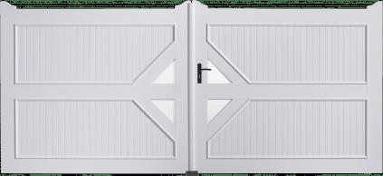 Portail PVC Tambour