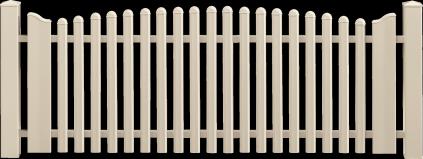 Clôture PVC Tempo