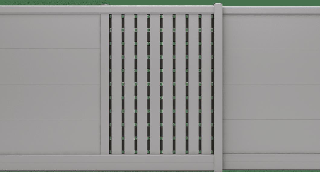 Portail aluminium Tillandia