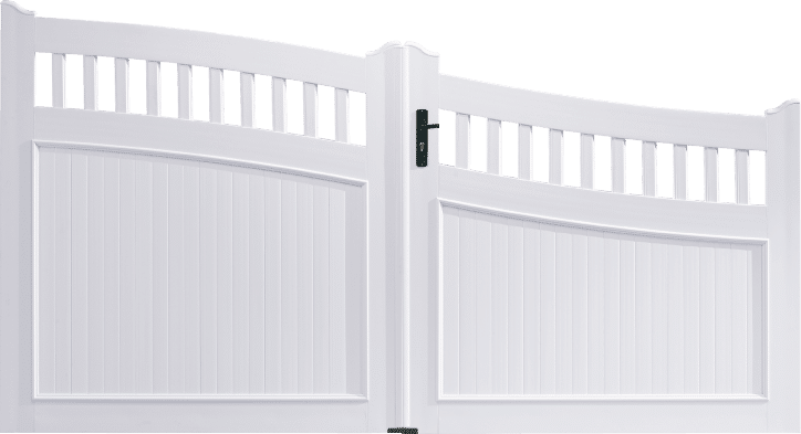 Portail PVC Triangle
