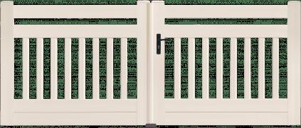 Portail PVC Xylophone