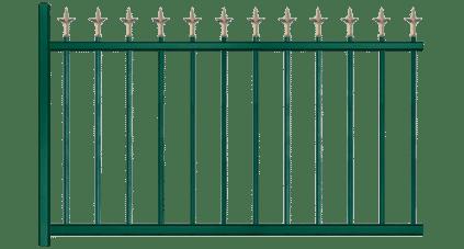 Votre clôture aluminium Arcade, fabriquée sur mesure et en France
