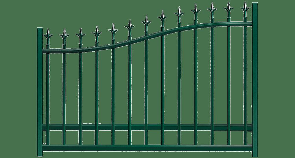 Votre Clôture aluminium Arthurien, personnalisable et fabriquée sur mesure