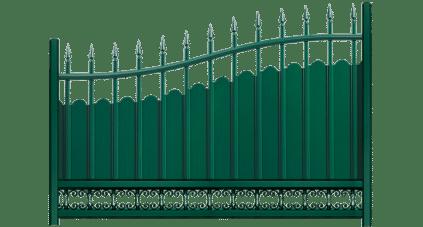 La clôture aluminium Menhir est fabriqué sur mesure en France.