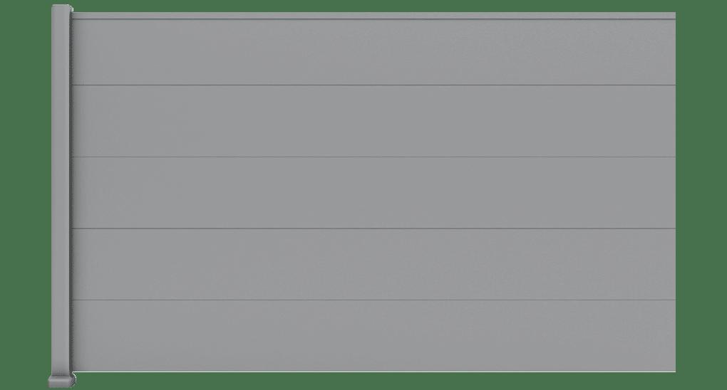 Pinelia est une clôture aluminium, fabriquée sur mesure et en France.