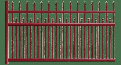 Votre clôture aluminium SENTIER, un fabrication Francaise de qualité et garantie 10 ans