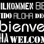 Motif Bienvenue