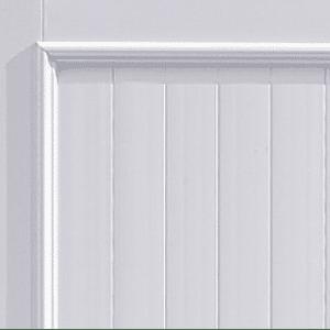 Moulure fine pour portail PVC Charuel