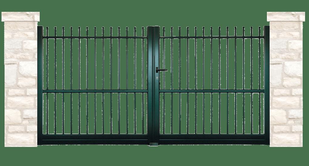 portail aluminium traditionnels accolade