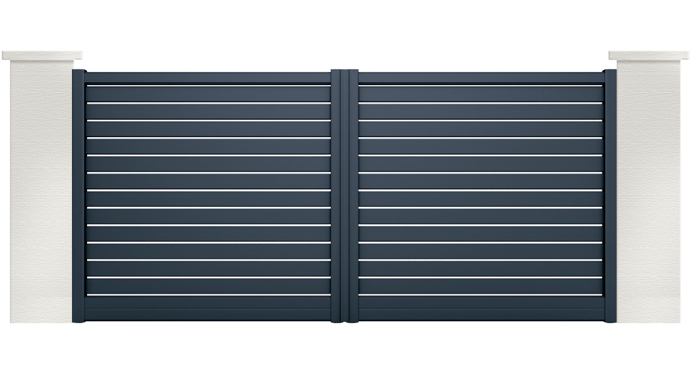 portail aluminium contemporain alose