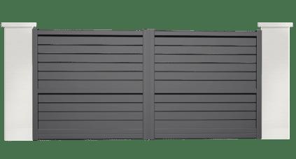 portail aluminium contemporain apogon