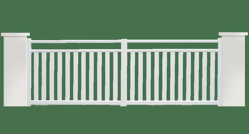 portail aluminium contemporain Cirrius