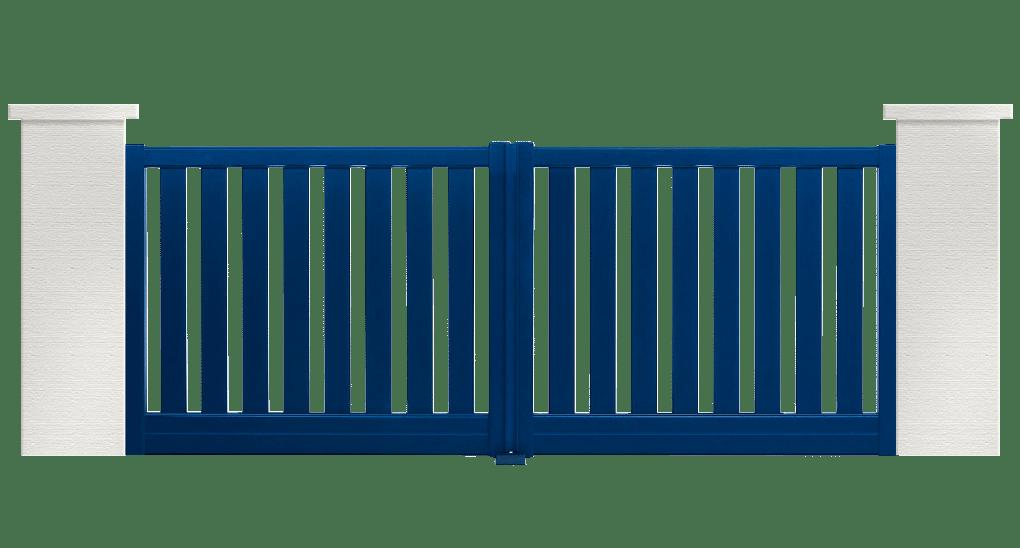 portail aluminium contemporain country