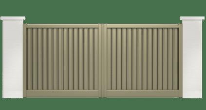 portail aluminium contemporain cumbia