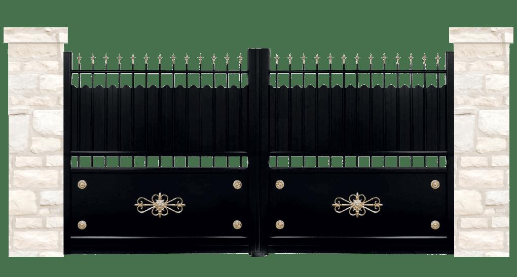 portail aluminium contemporain epopee