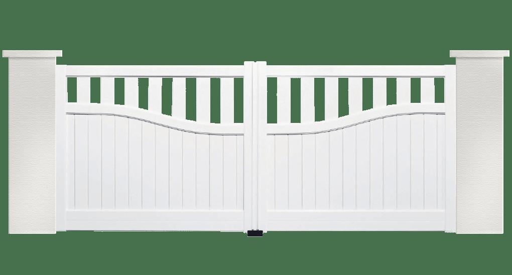 portail aluminium contemporain jerk