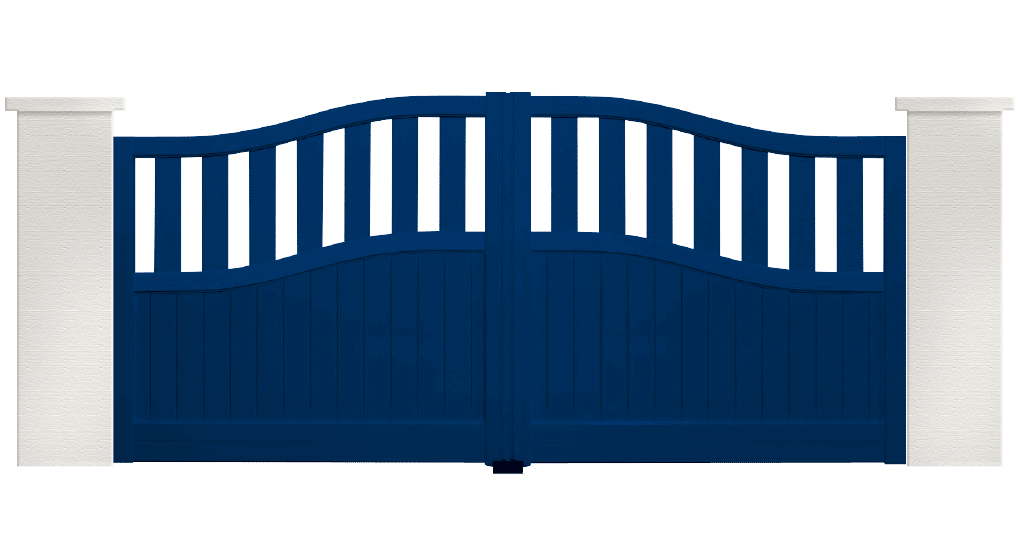 portail aluminium contemporain mambo