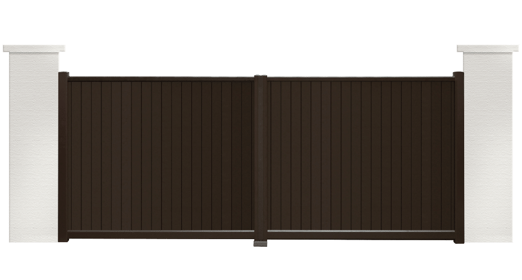 portail aluminium contemporain meteo