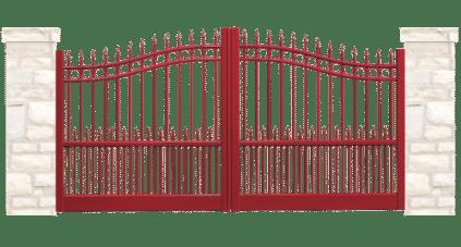 portail aluminium traditionnels pont levis