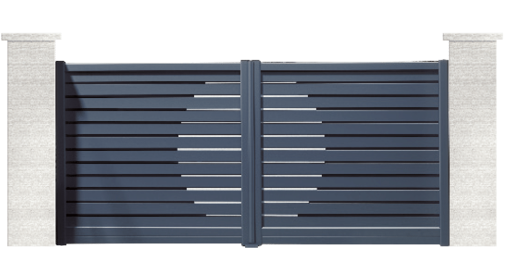 portail aluminium contemporain rabiz