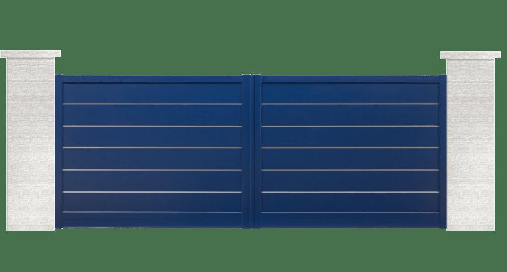 portail aluminium contemporain songo