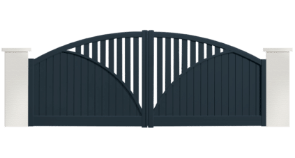 portail aluminium contemporain swing