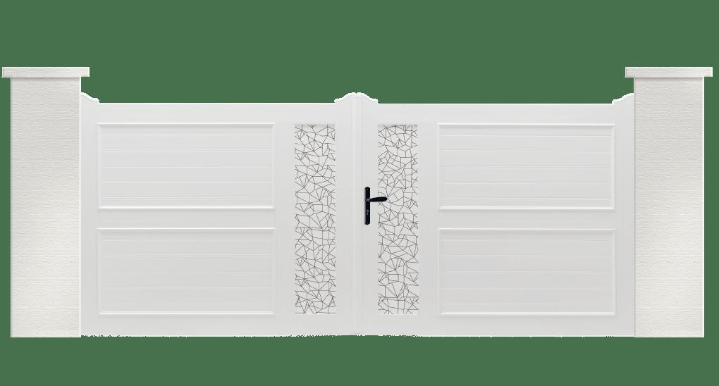 Portail PVC Appeau fabrication Française de qualité