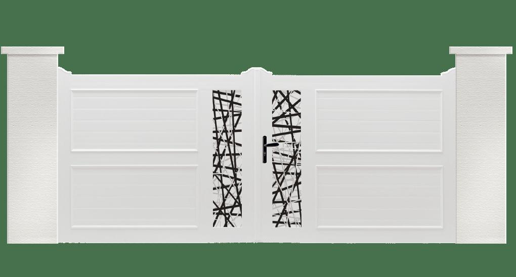 Portail PVC Bendir, votre portail contemporain Charuel