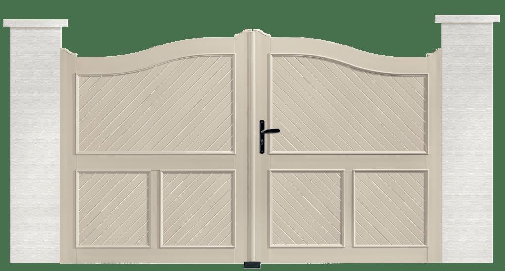 portail aluminium PVC biniou