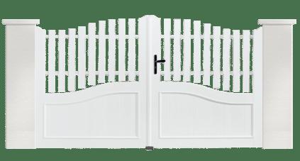Portail PVC Cithare, une fabrication Française et sur mesure avec Charuel
