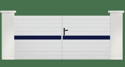 Portail PVC Flaviol, le choix de la personnalisation et du sur mesure pour son portail